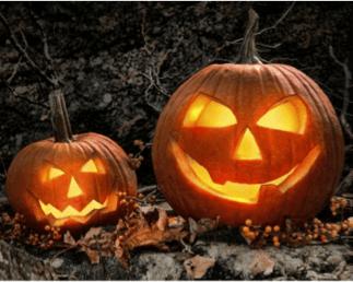 Halloween et Jack'O Lantern
