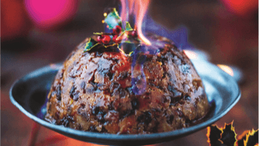 Christmas Pudding, a British tradition!