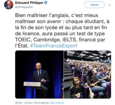 La maîtrise de l'anglais : levier pour le commerce extérieur français ?